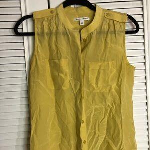 Banana Republic yellow blouse